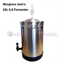 Mangrove Jack's 25L High Qality Stainless Steel Fermenter