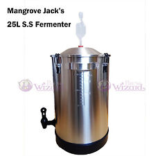 Mangrove Jack's 25L High Qality Stainless Steel Fermenter