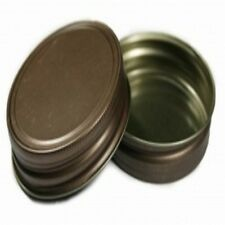 RUSTIC BROWN LIDS FOR STANDARD CANDLE MASON STYLE JAR G70 CT PACK OF 12 PCS