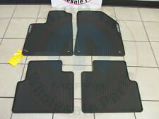 CHRSYLER 200 Black Slush Mats Front & Rear NEW OEM MOPAR