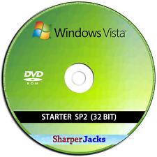 Windows Vista Starter 32-Bit Install / Reinstall / Restore / Recovery / Repair