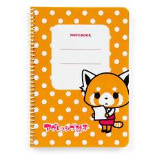 Aggressive Retsuko B6 spiral notebook SANRIO KAWAII F/S NEW Made in Japan