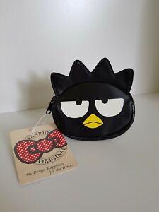 Official SANRIO ORIGINAL Hello Kitty Badtz-Maru XO Coin Purse Pouch Cute Gift