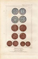 XVe siècle / Monnaies d' Argent et Monnaies de Billon