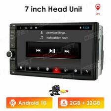 "7"" 2Din Android 10 Car GPS Navi Bluetooth Radio Stereo HD AUX USB WIFI 4G Camera"