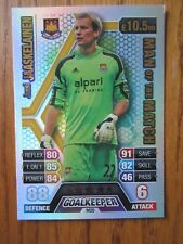 Match Attax 2013/14 - MOTM card - Jussi Jaaskelainen of West ham United