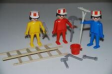 Playmobil 3201 c) obras construccion works obreros