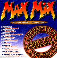 CASx2 - Max Mix - El Auténtico Megamix (Various Mixed By Dream Team) MINT SEALED