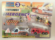 Action System 3 Matchbox Emergency Pack 10 Piece Playset
