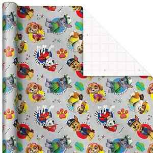 PAW PATROL PUPPY DOG GIFT WRAP WRAPPING PAPER ROLL ANY OCCASION 22.5 SQ. FEET