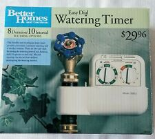 New listing Easy Dial Electronic Watering Timer Better Homes And Gardens Nib Water easily