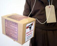 Wartime Memorabilia 1940's-Gas Mask Box & Luggage Label-Childs School Set