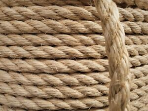 50m x 8mm Sisal (natural rope for cat scratching posts) (mi)