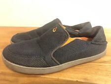 Olukai Nohea Mesh Slip On Boat Shoe Loafer Casual Fold Down Mens Sz US 11/44 GUC
