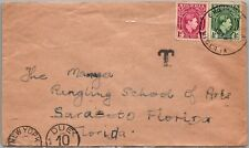 GP GOLDPATH: NIGERIA COVER 1949 POSTAGE DUE _CV568_P14