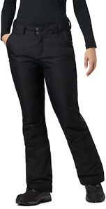Columbia On the Slope II Snow Pants, Women's Size XL Regular, Black NEW