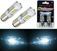 LED Light 80W 2357 White 6000K Two Bulbs Front Turn Signal Replacement Stock Fit