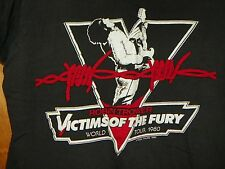 VTG 1980 ROBIN TROWER VICTIMS OF THE FURY WORLD TOUR LARGE CONCERT TEE
