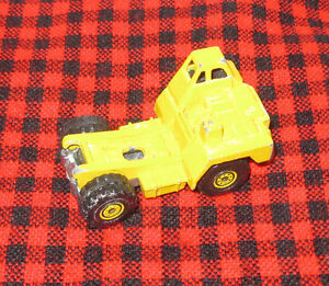 1979 DIECAST HOT WHEELS CAT CONSTRUCTION CAB ~Good Condition~Nice Paint~MALAYSIA