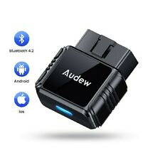 OBD2 Scanner - Bluetooth 4.2 OBDII Car Diagnostic Scanner Code Reader for iOS...