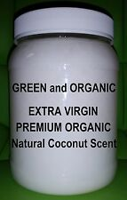 Premium 54 oz Extra Virgin Coconut Oil Unrefined Cold Pressed Organic Non Gmo