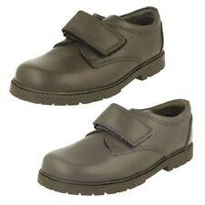 Chaussures à boucle en cuir pour garçon de 2 à 16 ans