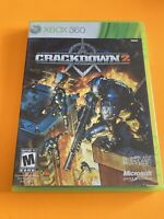 🔥 MICROSOFT XBOX 360 💯 COMPLETE WORKING GAME🔥 CRACKDOWN 2 🔥