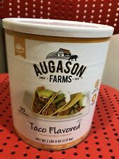 Augason Farms Taco Flavored Veg Meat Substitute #10 Can Expires 07-2029 Food