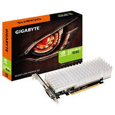 GIGABYTE GeForce GT 1030 Silent LP 2GB Dual-Link DVI-Dx1 HDMI(Gold Plated)x1