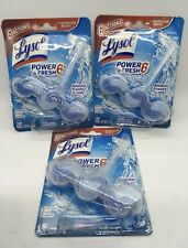 Lysol Power Fresh Automatic Toilet bowl Cleaner Atlantic Fresh Pack of 3 New
