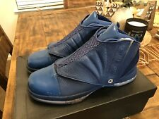 Air Jordan 16 Retro XVI Trophy Room French Blue 854255-416 size 1,034/5,000 LE