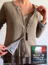 Unbranded Wool Thin Knit Solid Jumpers & Cardigans for Women