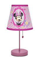 Disney Minnie Mouse Design Bow-tique Table Lamp Playroom Bedroom Dot Graphics