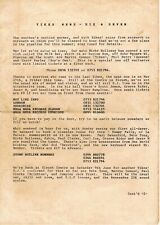 YIKES Rave Flyer Flyers 1990 A4 Very Rare Newsletter Acid House