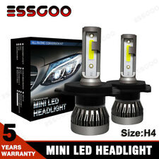 2X Ampoule H4 LED Phare Voiture 72W MAX74 Feux Remplacer HID Xénon Lampe 6000K