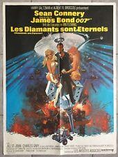Affiche LES DIAMANTS SONT ETERNELS Diamonds are Forever JAMES BOND 60x80cm *