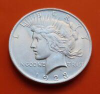 ESTADOS UNIDOS 1 DOLAR 1923 PEACE PAZ KM.150 MONEDA PLATA SC USA silver Dollar