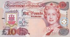 More details for p26a gibraltar 1995 ten pounds banknote in mint condition