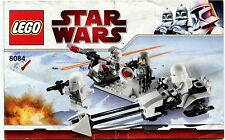 Lego STAR WARS Snow Trooper Battle Pack 8084 Instruction Manual - Booklet Only