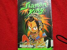 Shaman King anime manga vol / issue #1 shonen naruto bleach hellsing