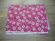 Dena Designs London collection Canterbury Pink floral dress quilt fabric 2 Yards