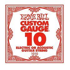 ERNIE Ball custom gauge singola stringa chitarra per eectric / Acoustic (10)