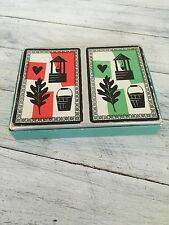 Vintage Twin-Dex Russell Gladstone Playing Cards 52 Cards Each Deck No Jokers