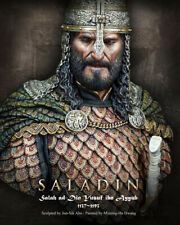 SALADIN 1/10 Muslim Sultan Bust HQ Resin Historical Figure Model Kit Unpainted