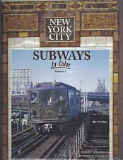 New York City SUBWAYS: Big Apple's subway system, last half 20th Century - (NEW)