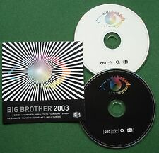 Big Brother 2003 Tatu Sugababes Girls Aloud Sonique Mad'house Nelly + CD x 2