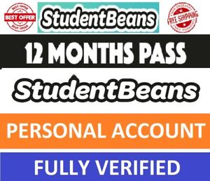 ✅Student Beans Account-12 Months Full Access - With Guarantee -10Hours Delivery✅
