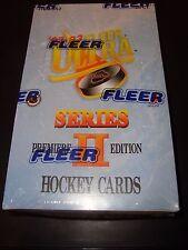 1992-93 Fleer Ultra NHL Hockey Unopened Factory Sealed Box 36 Packs MINT SER. 2