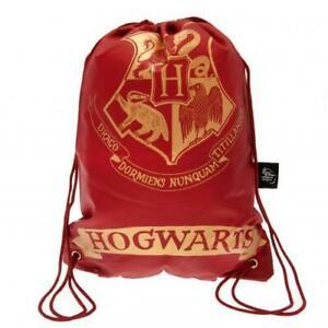 HARRY POTTER HOGWARTS DRAWSTRING BAG - OFFICIAL GIFT
