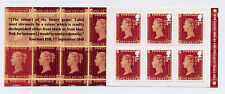 GB 2016 6 x 1st CLASS 175th ANNIVERSARY of the PENNY RED BOOKLET MB16